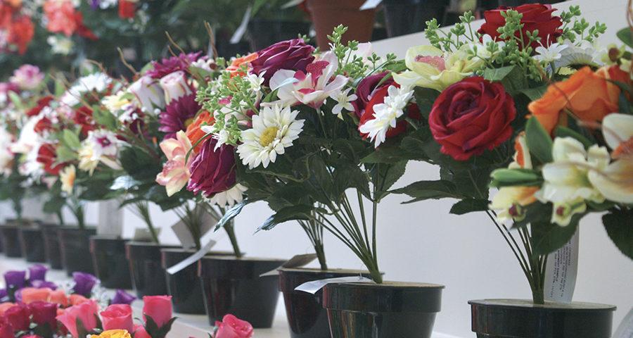 Fleurs articificielles, Fournitures pour compositions